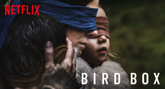 Netflix issues warning for people to stop doing the 'Bird Box' challenge