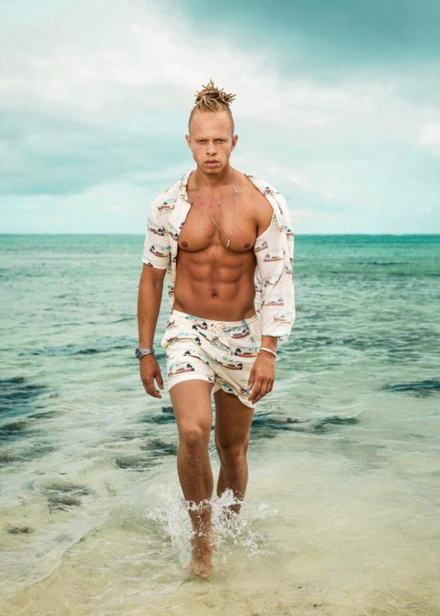 Shipwrecked 2019 contestant Chris Jammer