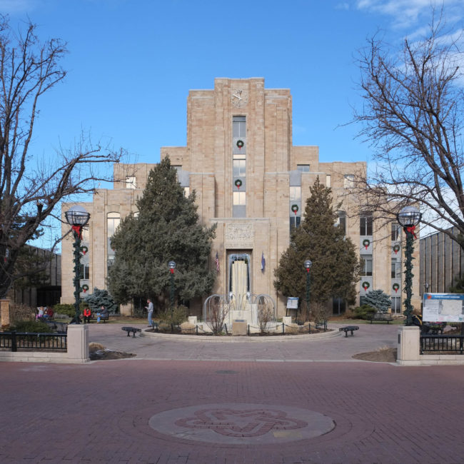 Boulder County Courthouse in Colorado
