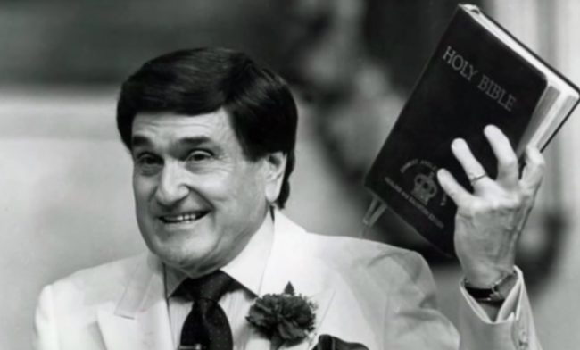 Evangelist Ernest Angley, who has been accused of sexual abuse