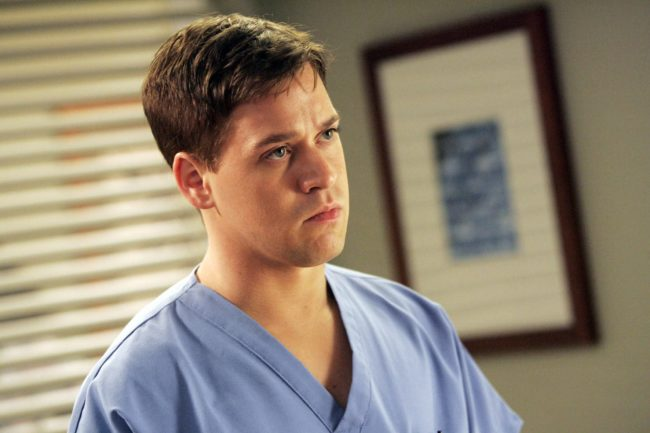 T.R Knight, Grey's Anatomy, George O Malley