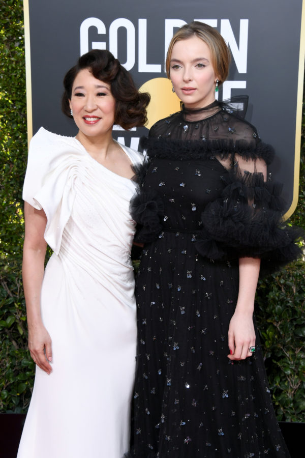 Golden Globes 2019: KILLING EVE'S SANDRA OH AND JODIE COMER