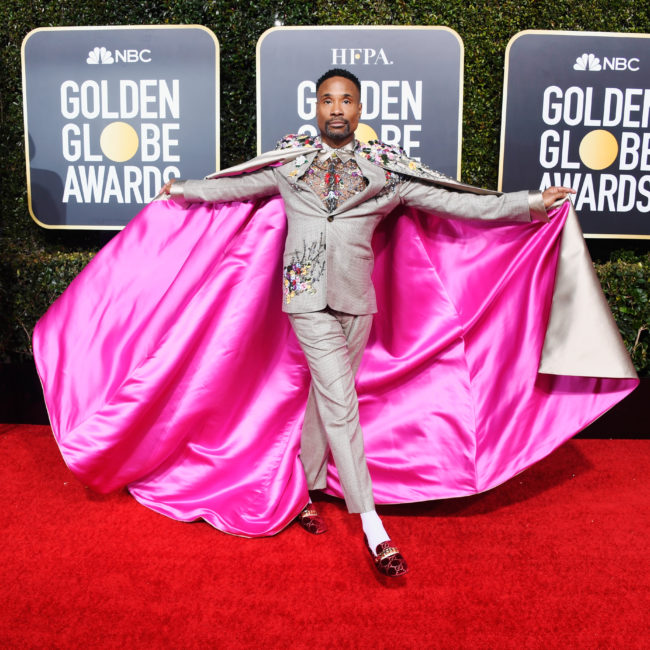 Golden Globes 2019 Billy Porter