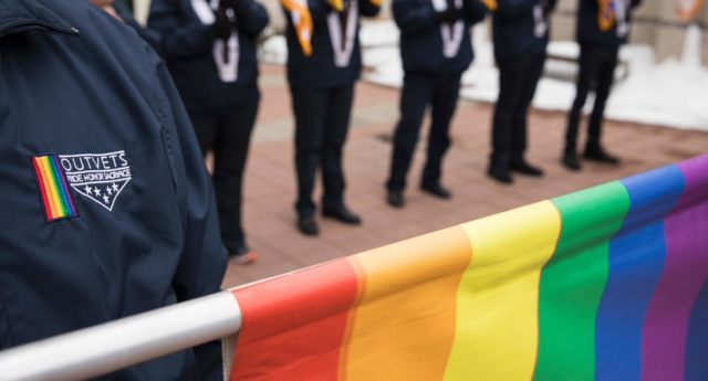 Bisexual veterans are at higher risk of PTSD, according to a new study. (Dominick Reuter/AFP/Getty)