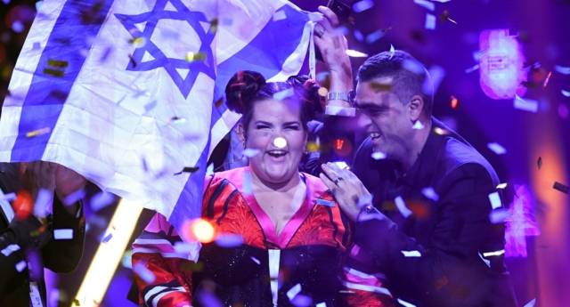 Israel is due to host Eurovision following Netta's victory in 2018. (Francisco Leong/AFP/Getty)