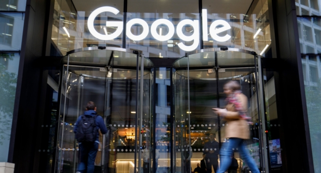 Google's UK headquarters in London. (TOLGA AKMEN/AFP/Getty Images)