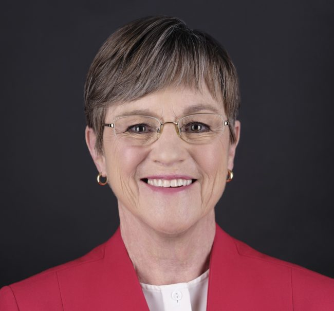 Official portrait of Kansas Governor Laura Kelly