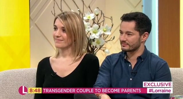 Hannah and Jake Graf. (ITV/Lorraine)