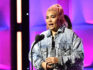 Hayley Kiyoko speaks onstage at Billboard Women In Music 2018 on December 6, 2018 in New York City.  (Mike Coppola/Getty)