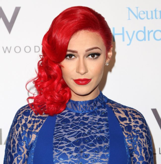 Singer Kaya Jones attends an Oscars Viewing Party on February 22, 2015.