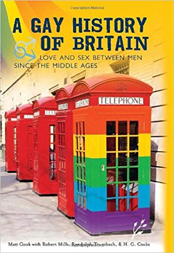 LGBT history books: Gay History of Britain, Love and Sex Between Men Since the Middle Ages