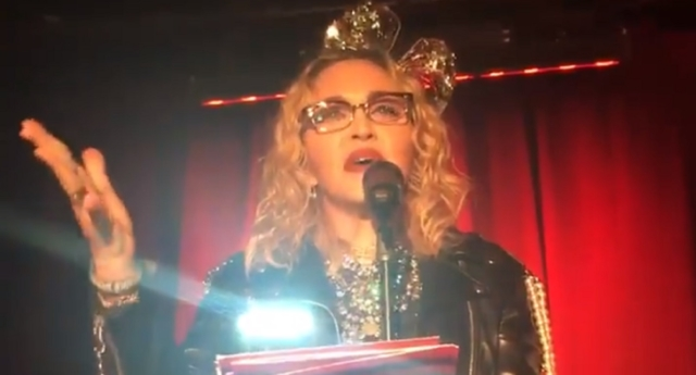 Madonna Surprises Fans With New Year's Eve Performance