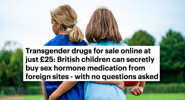 The MailOnline has apologised for an article about transgender children. (MailOnline)