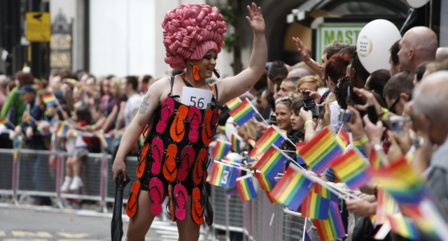 Manchester Pride's parade in 2012. (Nathan Cox/Getty Images)