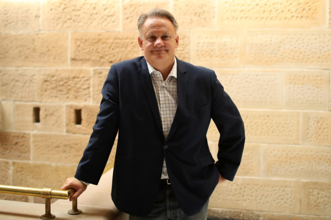 Mark Latham poses for a portrait on October 5, 2017 in Sydney, Australia