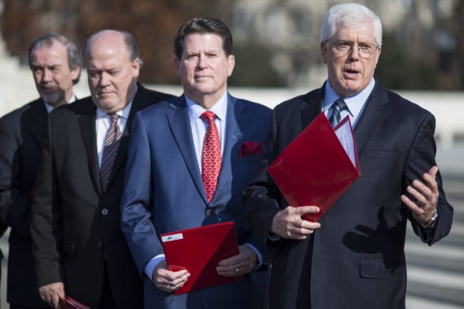 Gay cure therapy lawsuit: Founder and Chairman of the Liberty Counsel Mat Staver