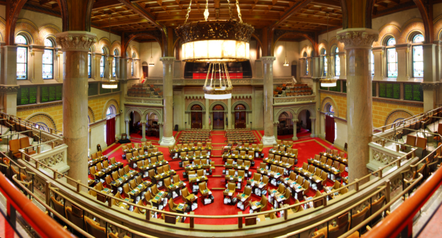 New York state's Assembly. (Wikimedia Commons)