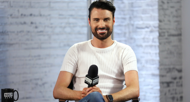Rylan Clark-Neal in discussion about his new ITV gameshow 'Babushka' (Tim P. WhitbyGetty)