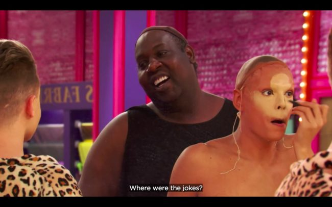 RuPual's Drag Race All Stars 4 Trinity reads Latrice 'Where are the jokes?'