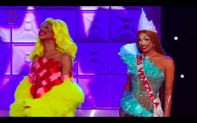 RuPaul's Drag Race queens Naomi Smalls and Valentina