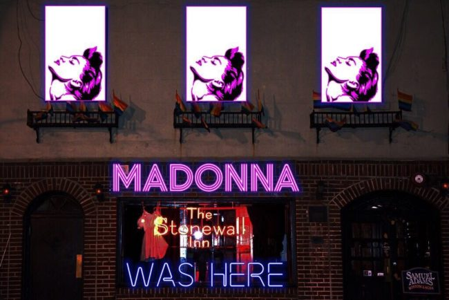 Madonna Performs at NYC's Stonewall Inn on New Year's Eve!