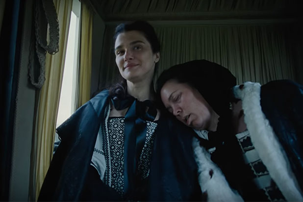 LGBT+ Oscars nominees: Rachel Weisz and Olivia Colman in The Favourite