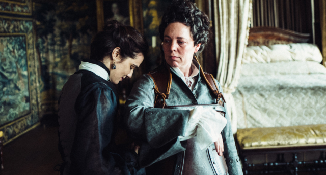 LGBT+ Oscars nominees: Rachel Weisz and Olivia Colman in The Favourite (Twentieth Century Fox)