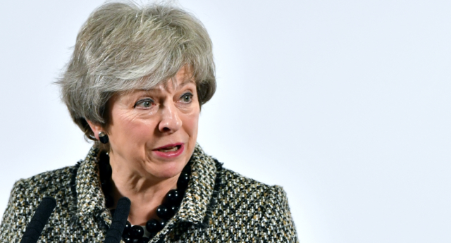 Prime minister Theresa May's Brexit deal has been rejected in the largest defeat for a UK government in parliamentary history. (Anthony Devlin/Getty)