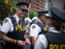 Police officers at the Pride Toronto festival in 2016. (Ian Willms/Getty)