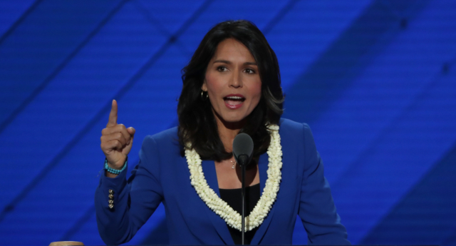 US representative Tulsi Gabbard (D-HI) (Alex Wong/Getty)