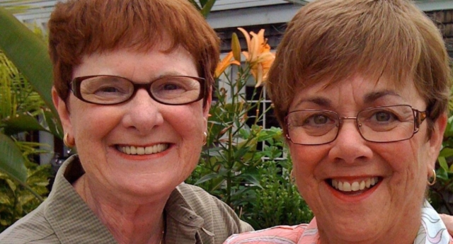 Lesbian couple Mary Walsh and Ben Nance lost the discrimination case against a retirement home who rejected them for being married. (Mary Walsh/Facebook)