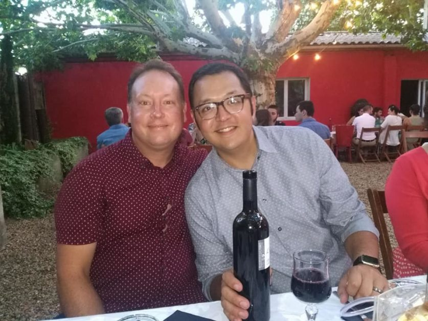 The gay couple said the venue did not disclose it wasn't LGBT friendly. (Aaron Lucero/Facebook)