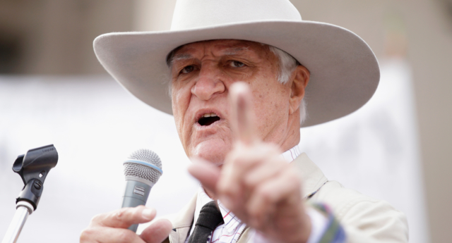 Bob Katter has once again made controversial comments about gay people (Darrian Traynor/Getty)