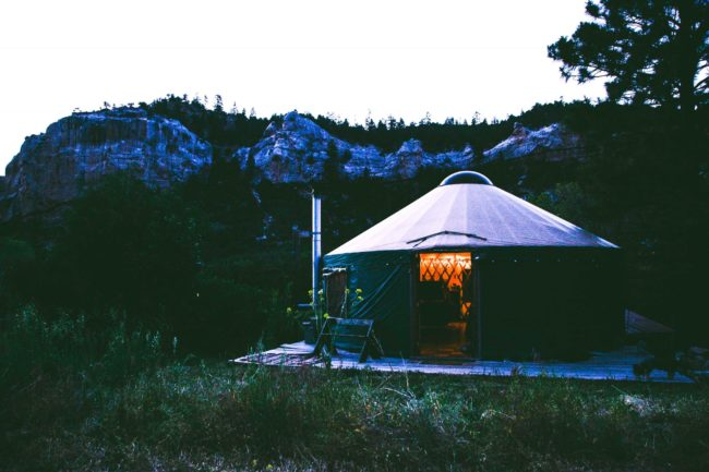 Valentine's Day gifts: Glamping trip