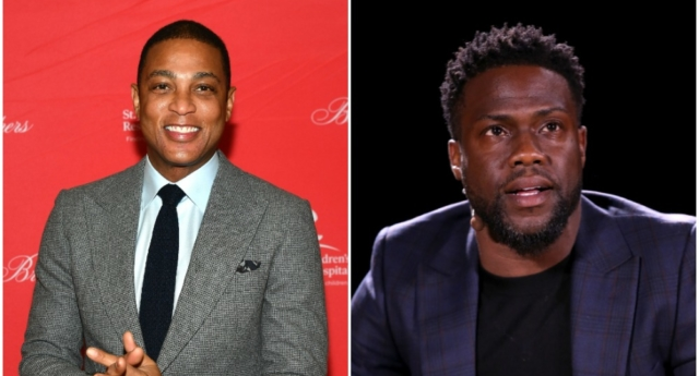 Don Lemon (L) (Mike Coppola/Getty) Kevin Hart (R) (Phillip Faraone/Getty)
