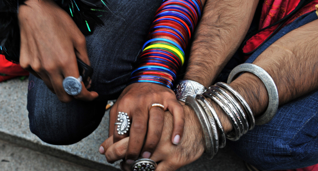 A BuzzFeed investigation revealed the intrusive questions asked to a gay couple seeking asylum in Australia. (DIBYANGSHU SARKAR/AFP/Getty Images)