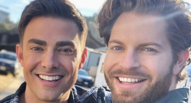 Jaymes Vaughan is going out with Mean Girl star Jonathan Bennett (jaymesv/instagram)