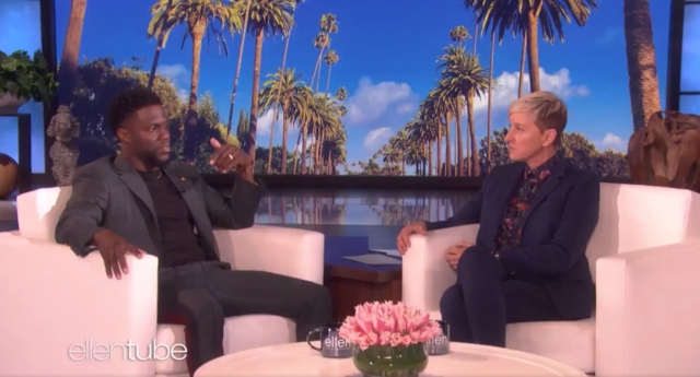 Kevin Hart 'evaluating' return as Oscars host after Ellen calls Academy