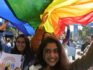 The lesbian wedding has not been officially recognised, as India hasn't made same-sex marriage legal (DIPTENDU DUTTA/AFP/Getty)