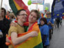 The top court in Lithuania's ruling is momentous for some same-sex couples (PETRAS MALUKAS/AFP/Getty)