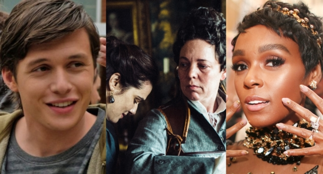 The Favourite, Janelle Monae and Love, Simon were among the GLAAD Award nominees (Twentieth Century Fox and Christopher Polk/Getty)