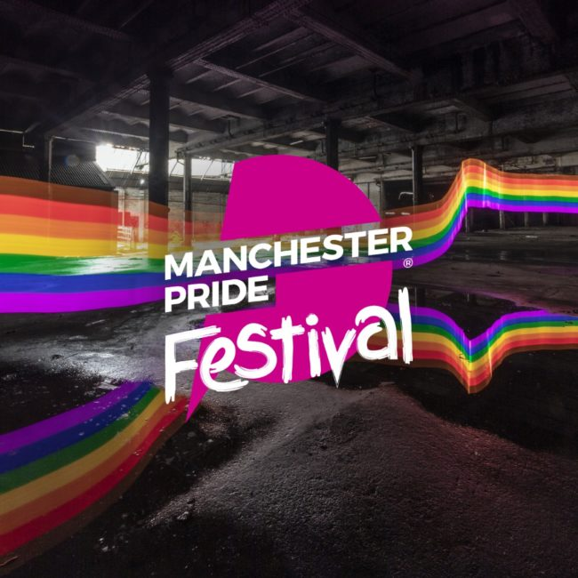 A promotional picture by Manchester Pride for its 2019 event