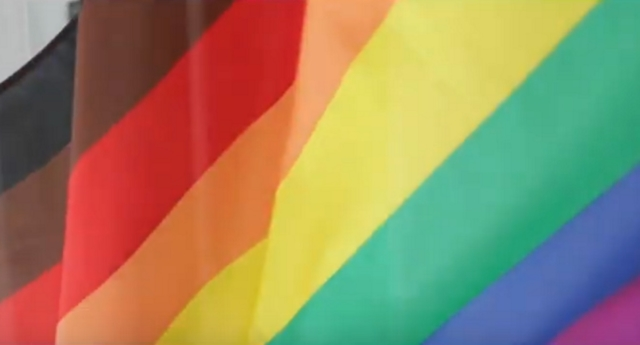Manchester Pride has chosen to use this eight-striped design for its official flag (manchester pride/youtube)