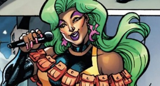 Marvel's first ever drag queen superhero, Shade, is unveiled (marvel comics)