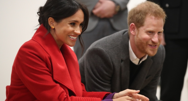 Meghan Markle and Prince Harry have chosen gender neutral colours, reportedly (Danny Lawson – WPA Pool/Getty)