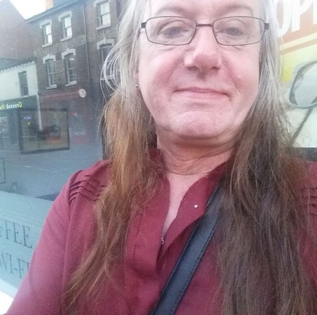 A Facebook photo of transgender woman Amy Griffiths, who was found dead on January 14