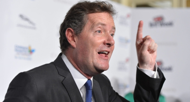 Piers Morgan has suggested that Greggs make its name gender fluid (Alberto E. Rodriguez/Getty)