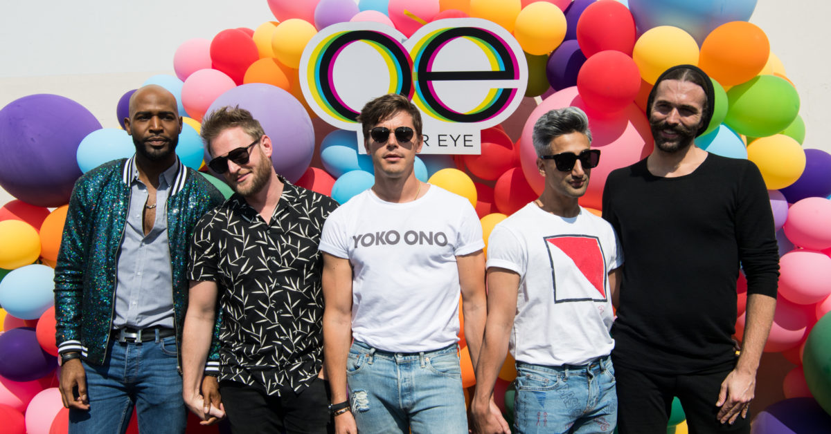 The Fab Five will be meeting four new heroes in Japan for a new Queer Eye mini-series. (Emma McIntyre/Getty)