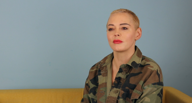 Rose McGowan said she previously hid her private life in Hollywood. (PinkNews)