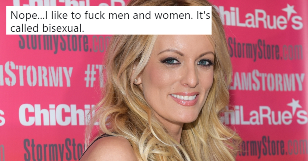 Stormy Daniels comes out as bisexual in fiery Twitter argument